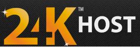 24KHost.com logo